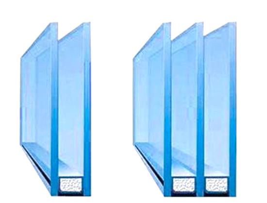 простой стеклопакет