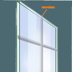 окна с шпросами