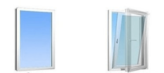 замена глухого окна на створку